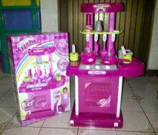 Mainan Kitchen Set Anak Boneka Mainan Anak 798143229
