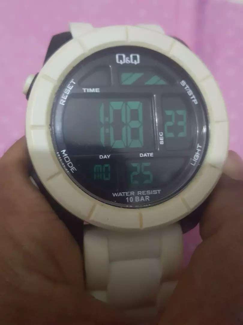 Jam Tangan Q Q Quartz Digital Seri Putih Original Jam Tangan 796969592