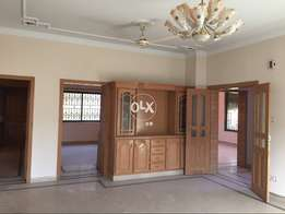 E11 Mpchs one Kenal 5bed Grond besmnt for Rent
