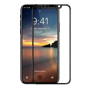 Tempered Glass 5D Iphone X Fullcover Curved Edge Glass Shield - FT654H