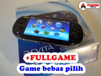 "PS Vita16GB +FREE GAMES ""bebas request game"""