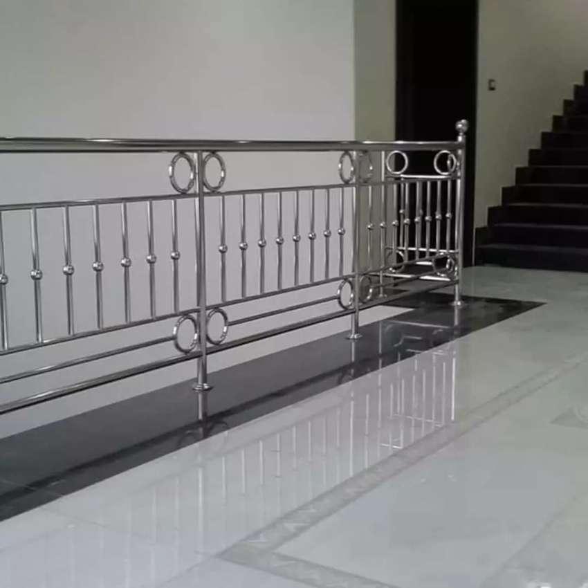 Jasa Pembuatan Pagar Balkon Raling Tang Dari Bahan Stainles Asli