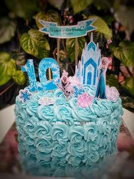 Kue Ulang Tahun Frozen Dijual Makanan Minuman Murah Di