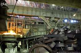 """Steel Mill"" 10 acre 10-Marla furnace 5 Ton/hour Capacity in Badaami"""