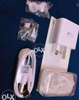 "Samsung N5 Accessories Genuine Charger + Cable+ Handfre"" Free Delivery"