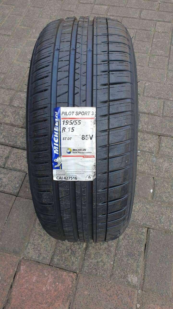 Michelin Pilot Sport 3 Ukuran 195 55 R15 Ban Mobil Honda Airwave Velg Dan Ban 790947987