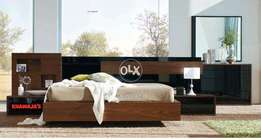 Best quality available.Bed with side Table & Dressing _Khawaja's