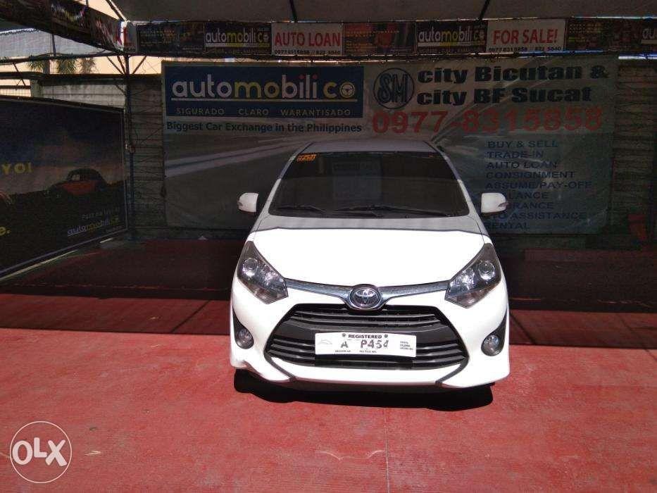 527d1fa740 2018 Toyota Wigo White MT Gas - Automobilico Sm City Bicutan in Las ...