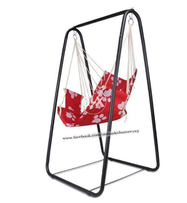 Portable hammock swing chair with stand - Karachi - Furniture & Home ...