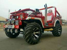 Open jeep. Modified jeep. Ready on order as