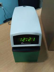 Mesin Time Stamp Acroprint ETC Validasi
