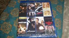 Blu ray movie original 8 disk bundle play on ps4 xbox one ps3