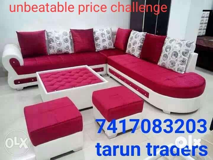 Beautiful sofa set unbeatableprice price Meerut Furniture