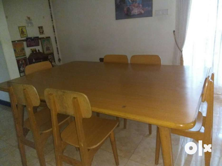 A dining table with six chairsa very quality wood  : images1000x700inslot1filenamef74849mfgmf73 IN from www.olx.in size 934 x 700 jpeg 34kB