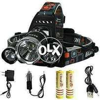 Head Lamp High Bright chargeable best for fishing hunting etc