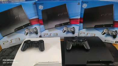 ps3 new and second