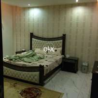 bahria town civic centre outclass furnish one bedroom apartement rent