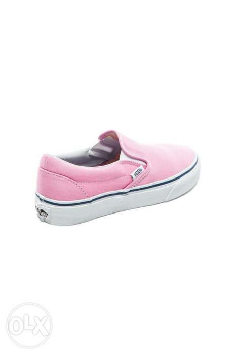 1eea98a95596 Vans Classic Slip On Sneaker in Prism Pink and True White in Manila ...