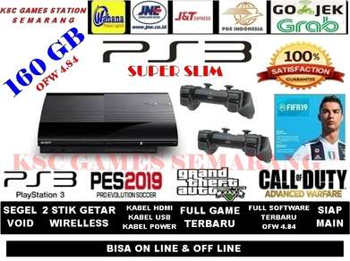 Seller Promotion New Type Sony Ps3 Super Slim 160 GB - Siap Main