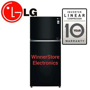 PROMO!! New Kulkas LG Inventer Linear 400liter (New Pintu Kaca)