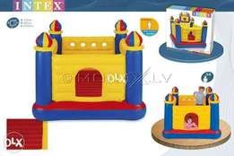 Intex blue yellow large 69 inches jumping castle