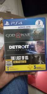 BD ps4 god of war & Detroit become human like new