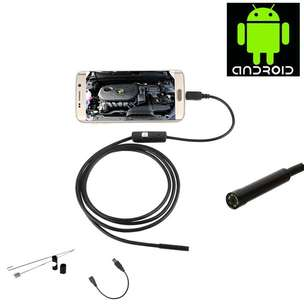 Android 7mm 4cm Focal Distance Endoscope Cam 720P 2M IP67 Waterproof