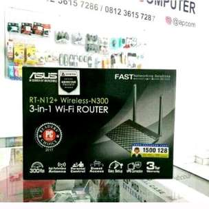 Wireless Router 3 in 1 Asus RT-N12+