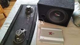 Complete Car sound system orignal