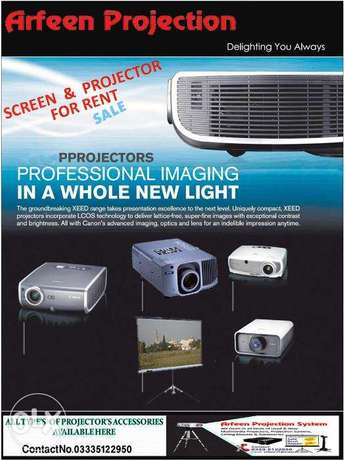 Arfeen Projection All type of Projectors available