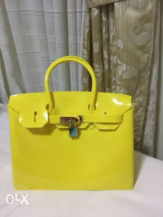 6ac6f7f296 Yellow Jelly Bag Beachkin in Parañaque