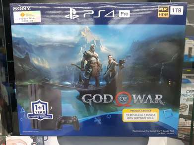 PS4 Pro 1 TB Bundle God Of War Garansi Sony Indonesia