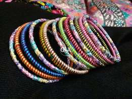 beautiful thread bangles