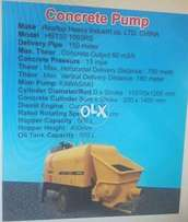 SEALING/RENT CONCRETE PUMP just brand new delivery pipe 150 matter