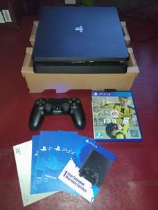 Sony PS4 Slim FW 6.20 mulus,bergaransi,bonus game FIFA 17