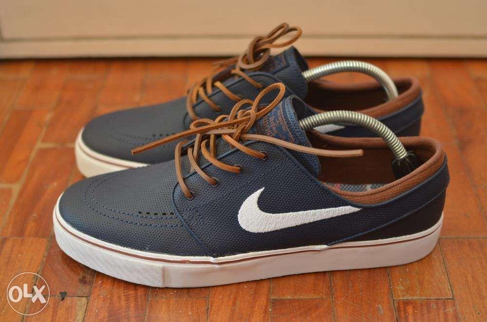 c435125f4bdd Nike SB Janoski Obsidian V2 Leather Size 11 Skateboard Vans Adidas ...