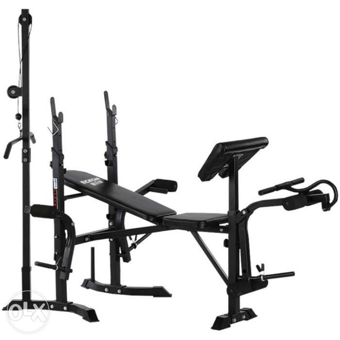 Dumbbell Set Price Philippines: Brand New 7in1 Deluxe Bench Press Gym Equipment In