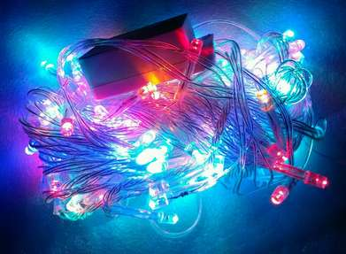 lampu tumblr natal 100led