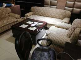 Second hand condition sofa set 1 2 3