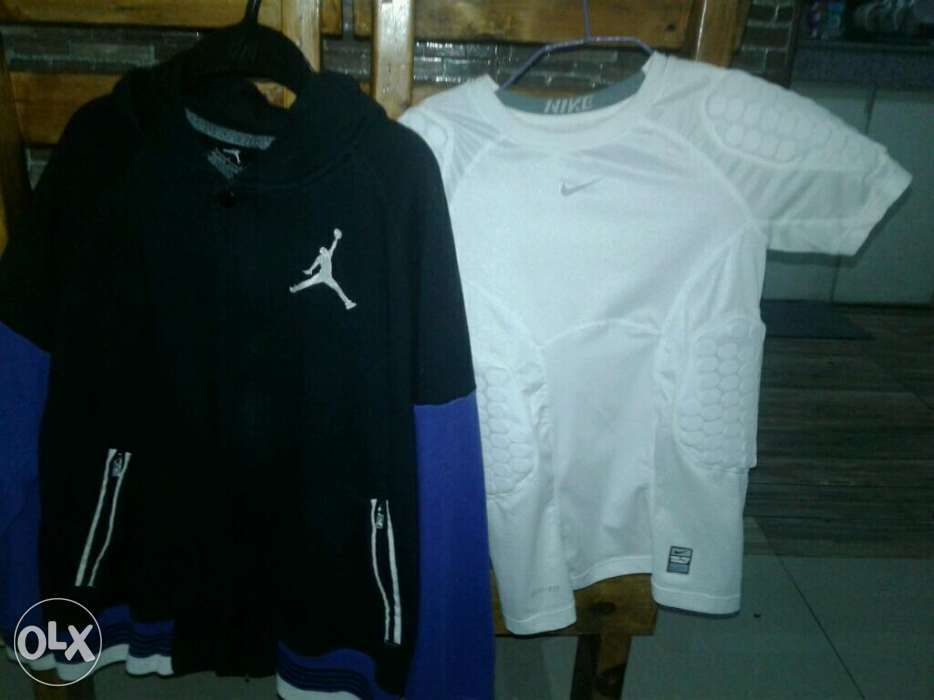 54f933e847fcbc As pack only Nike Padded Shirt and Jordan Varsity jacket in Cainta ...