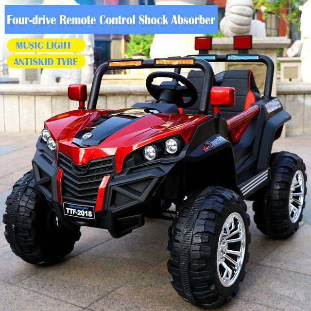 Cars For Kids >> Electric Car For Kids Battery Operated 4 4 Wheel Drive Electric Car