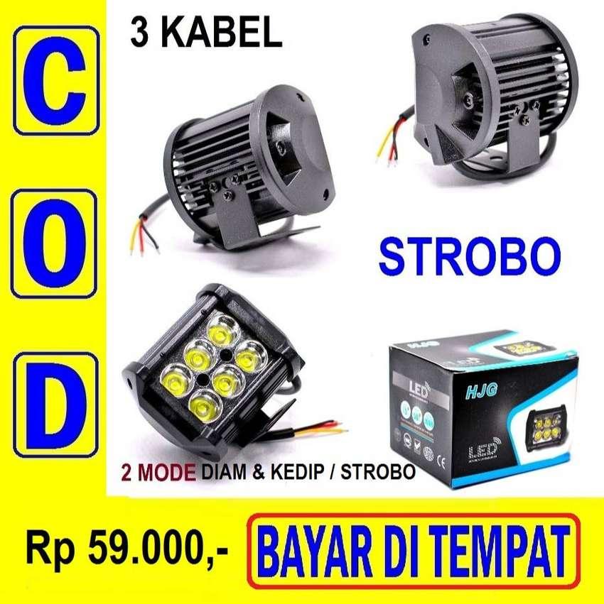 Lampu Sorot 12v Led Tembak 3 Kabel Terang Bukan Yang Biasa Super Murah Lampu 762842843