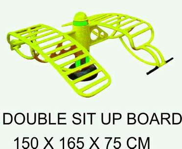 TERLARIS Double Sit Up Board Alat Fitnes Outdoor
