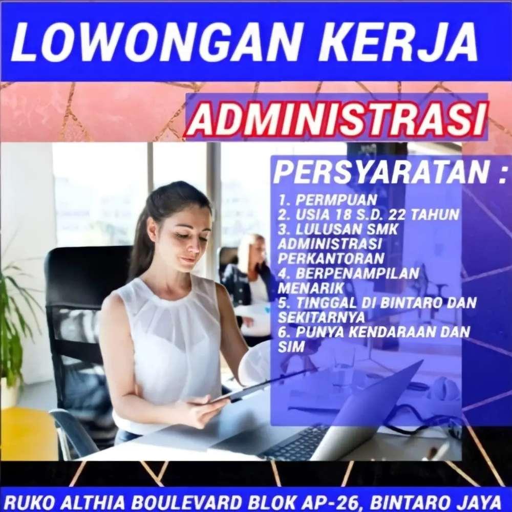 Di Admin Cari Lowongan Administrasi Terbaru Di Indonesia Olx Co Id