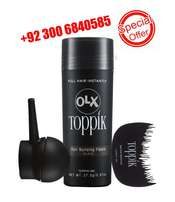 Toppik hair fiber available with applicator and comb / hair fibers /