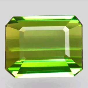 Natural Tourmaline Chrome Vivid Green Color 2.99 Ct NTD Certified