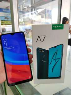 Second Oppo A7 Ram 4/64 Gold Mulus