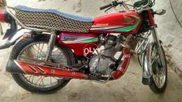 Honda 125. Exchange possible with Mehran any old model