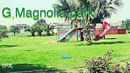 G magnolia park 6 marla corner plot all charges clear Rohaan Estate