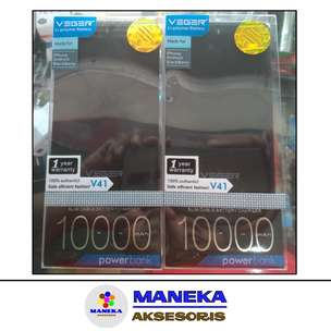 PB Powerbank Power Bank Veger 10000mah Original 100% Garansi Resmi